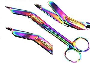 German Stainless Lister Bandage Scissors 7.25