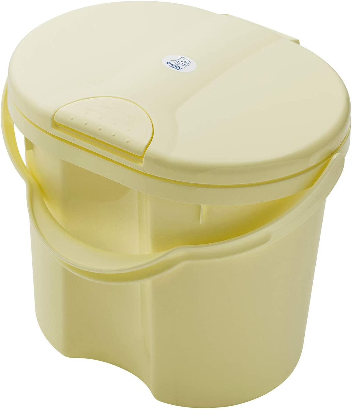 Yellow Delight 20002 0290 11l with Lid Rotho Babydesign TOP Nappy Pail 0+ Months