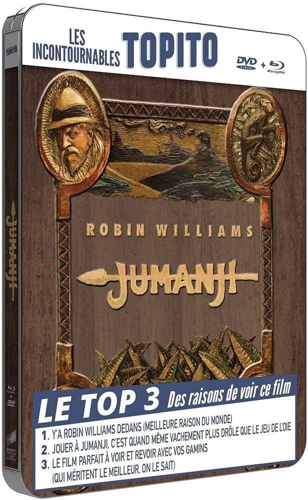 Jumanji [Francia] [Blu-ray]: Amazon.es: Robin Williams, Bonnie ...