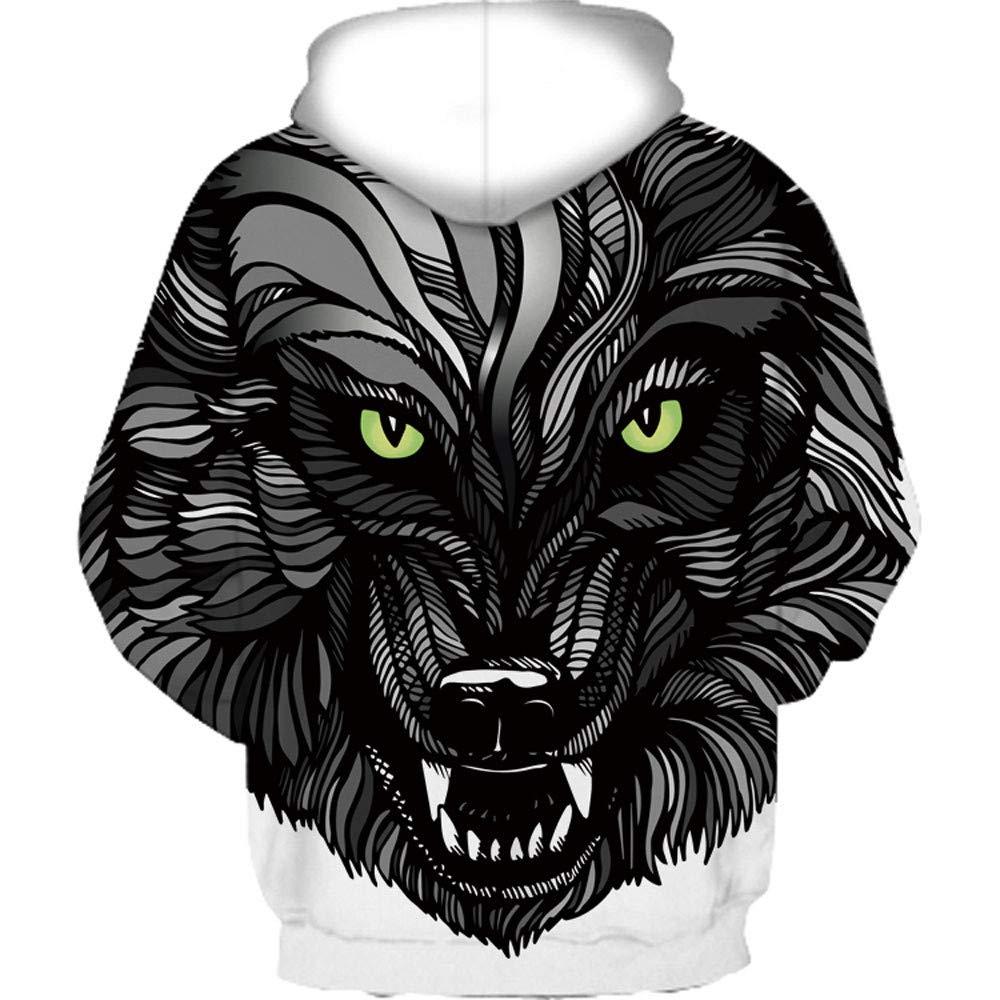 0797660c17d9 ... FORUU Casual Autumn Winter 3D Printing Long Sleeve Caps Sweatshirt Top  Blouse ZYH20180903 ...