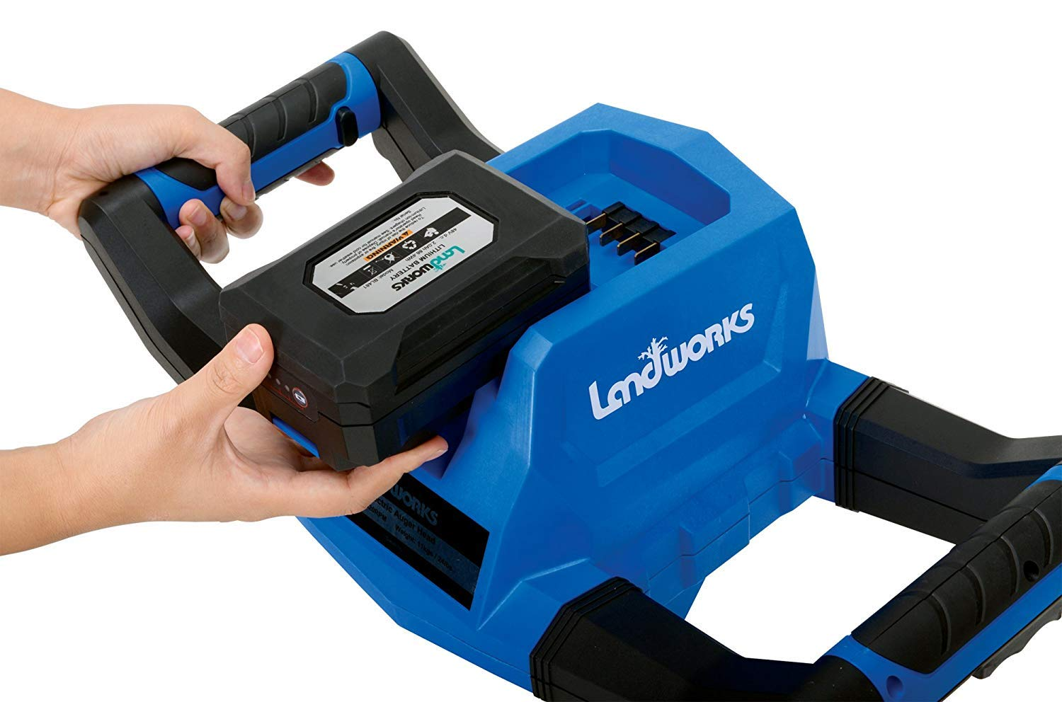 Landworks Heavy Duty Pro Lithium Ion Battery Charger 100-240V AC 50//60Hz 2.5A Both NOT Included Charger ONLY for Landworks 2Ah//4Ah Batteries to Power Landworks 48V Earth//Ice Auger Power Head