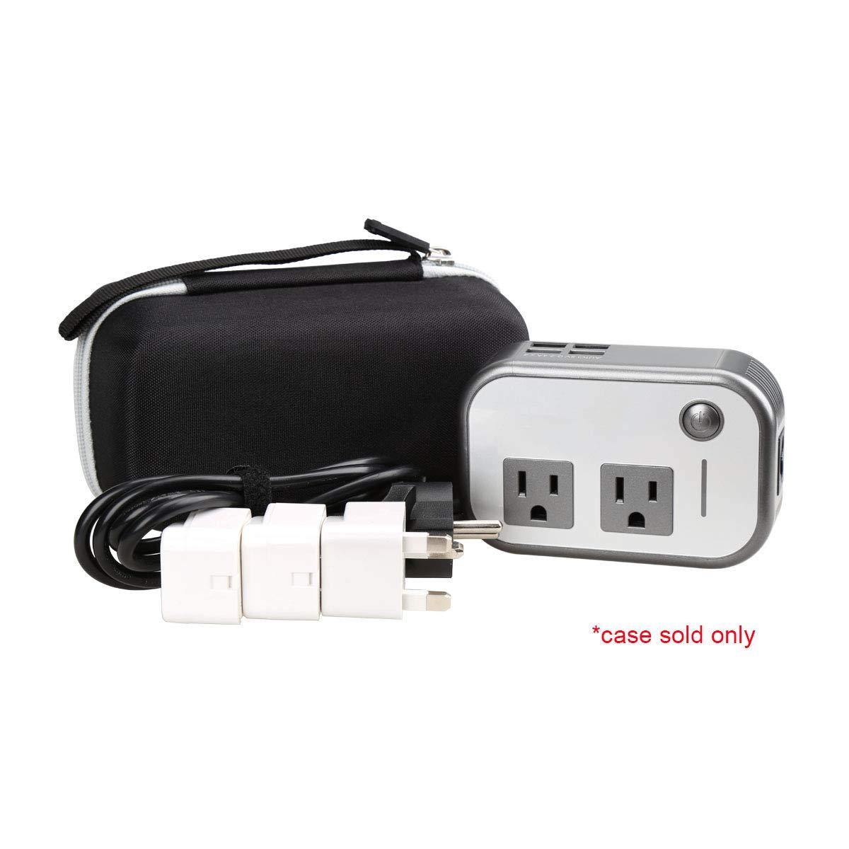Aproca Hard Travel Case Compatible Foval 200W Car Power Inverter DC 12V to 110V AC Converter