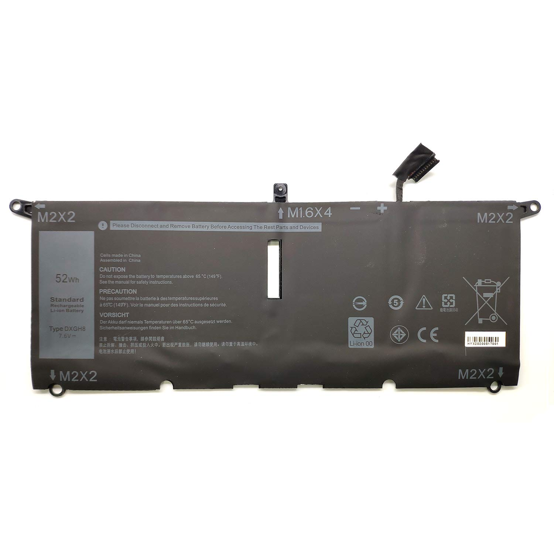 Bateria DXGH8 para Dell XPS 13 9370 2018 13-9370-7002SLV XP