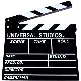 POSITIVE 映画撮影用 本格 ハリウッド 風 カチンコ 表は 映画 風裏は 黒板 として使える! オシャレ インテリア に! 保証書付き (通常サイズ (30cm×27cm))