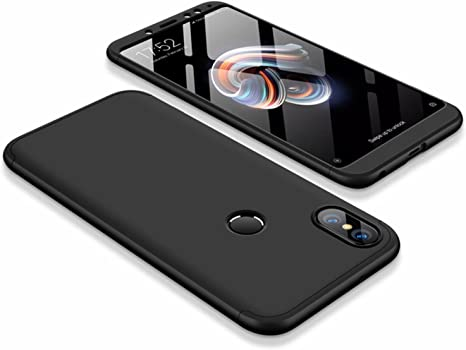 DESCHE compatibles con funda Xiaomi Redmi Note 5 Negro, PC duro Cubierta protectora Ultrafino Anti-rasguños Parachoque Mate Phone Case: Amazon.es: Electrónica