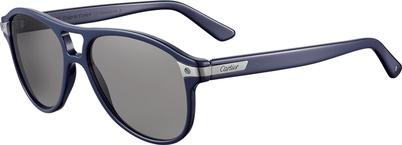 Cartier - Gafas de sol - para hombre azul azul: Amazon.es ...