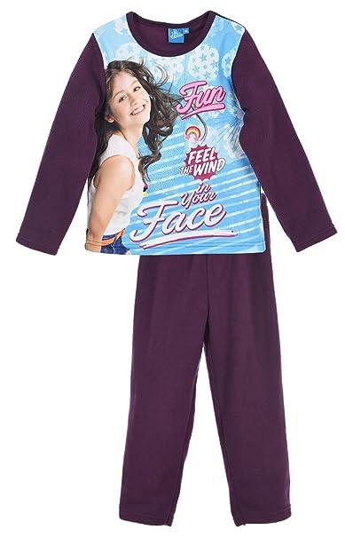 Soy Luna - Pijama - para niña morado 6 años