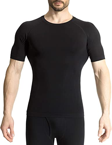 Men Compression Under Skin Base Layer Tops Sports T-Shirt Activewear Tights Tee