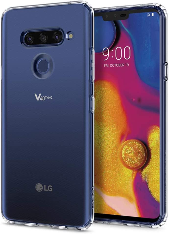 Spigen, Funda Compatible con LG V40 ThinQ 2019 [Liquid Crystal ...