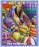 White Mountain Puzzles Hot Air Balloons – 1000 Piece Jigsaw Puzzle
