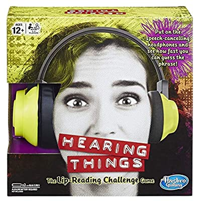 Hasbro Gaming Hearing Things Game: Toys & Games