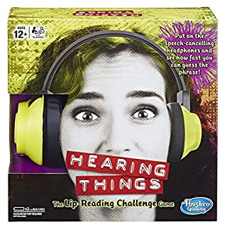 Hasbro Gaming Hearing Things Game