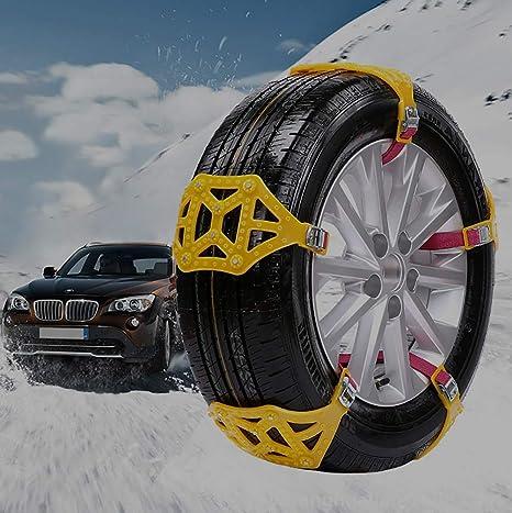 Catene universali da neve SUV,... camion per auto ghiaccio e fango