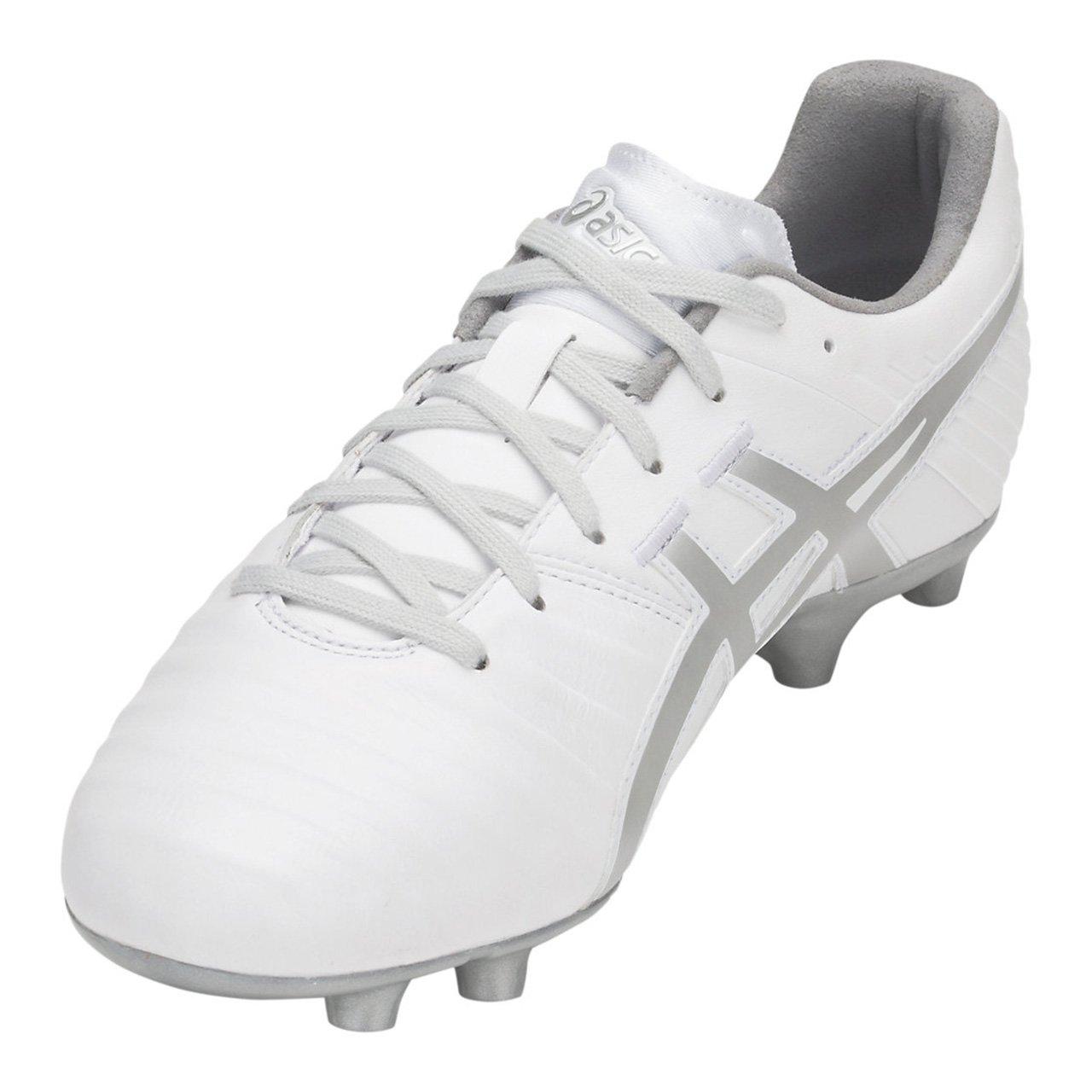 [アシックス] メンズ サッカー スパイク ディーエスライト3 ワイド DS LIGHT 3-wide ホワイト×シルバー TSI751 100 B07DPS3DNC 24.5 cm ホワイト/シルバー