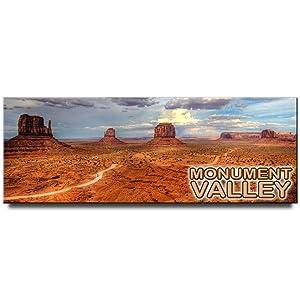 Monument Valley panoramic fridge magnet Arizona Utah travel souvenir