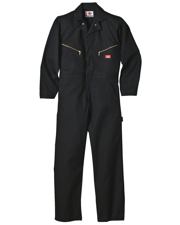 (ディッキーズ) DICKIES 長袖 つなぎ デラックスカバーオール 4879 【並行輸入品】 B009PXLQQ0 L|ブラック ブラック L
