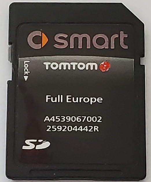 Smart Europe 2019 Sd Card A4539067002 Navigation Car Hifi