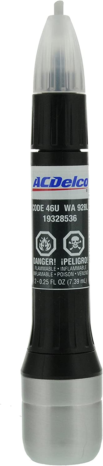 ACDelco 19328536 Stealth Gray Metallic (WA928L) Four-In-One Touch-Up Paint - .5 oz Tube