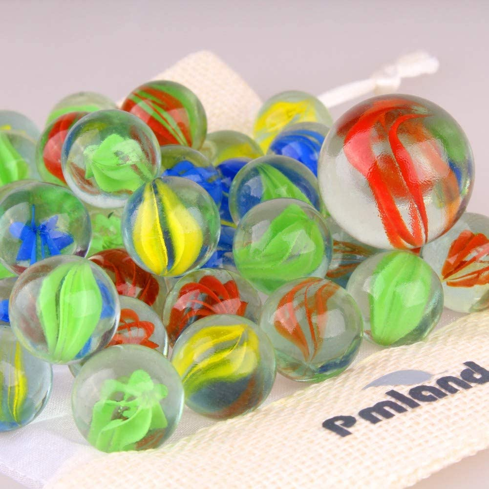 Cats Eye Marbles  34 Shooter  Cat/'s Eye Marbles  Collectible Marbles  Craft Supplies  Toy Marbles  Glass Marbles  Game Marbles