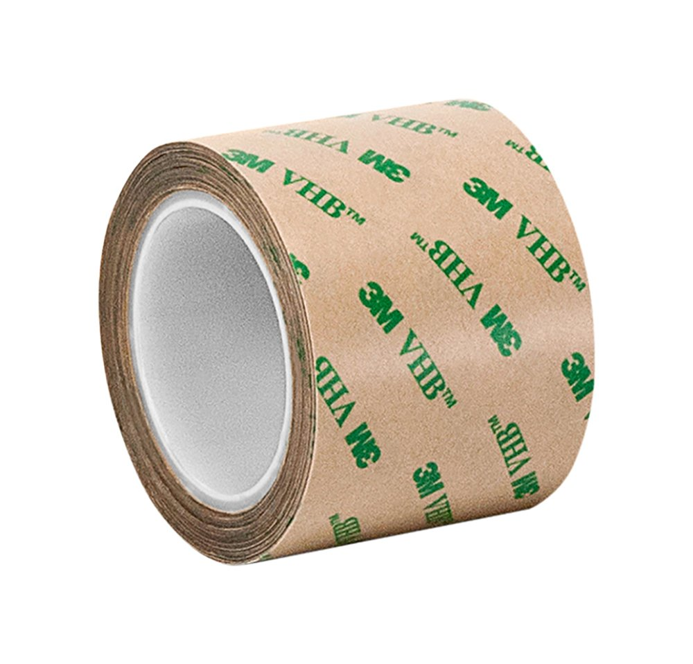 Length Adhesive Transfer Tape F9460PC 5 yd CASE of 8 0.5 Wide Clear Pack of 8 3M 1//2-5-F9460PC