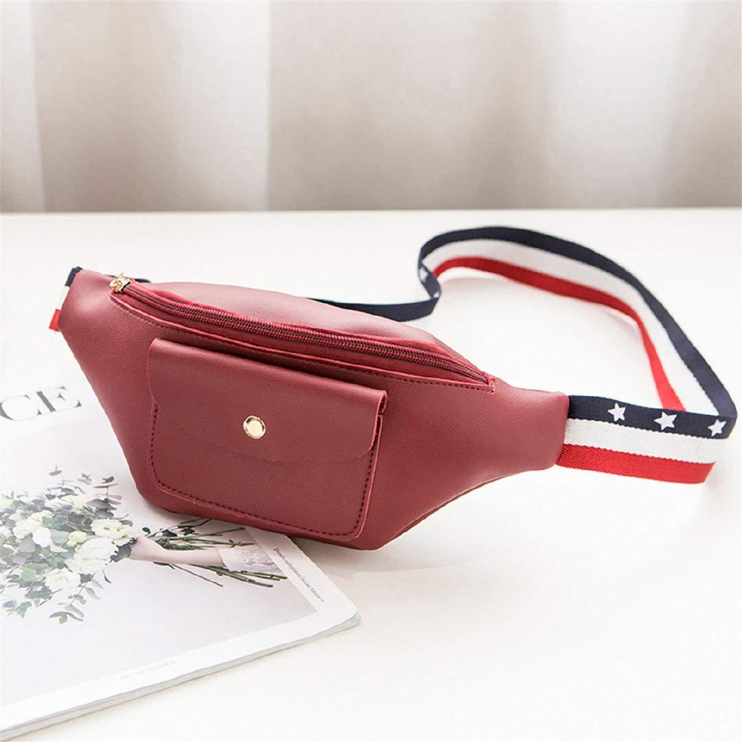 Zilosconcy Bolso de la Cintura Bandera Cinta Color sólido Cremallera Vertical Bolsillo de la Cintura Bolso del teléfono documento Bolsa: Amazon.es: Ropa y ...