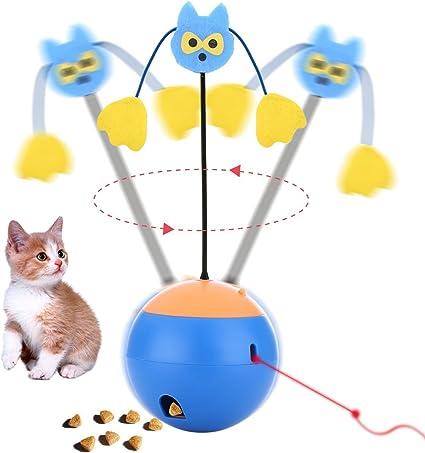Amazon.com : Wisdom Interactive Cat Toys 3 In 1 Multi Function ...