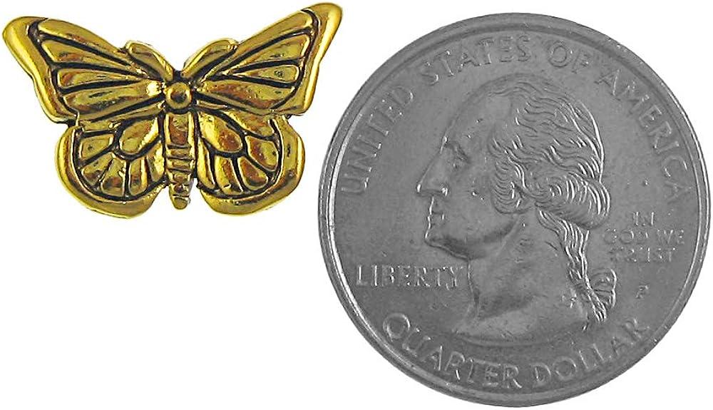 Jim Clift Design Butterfly Gold Lapel Pin