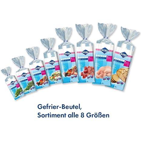 Kerl 4003450021003 - Bolsas para congelar alimentos (8 ...