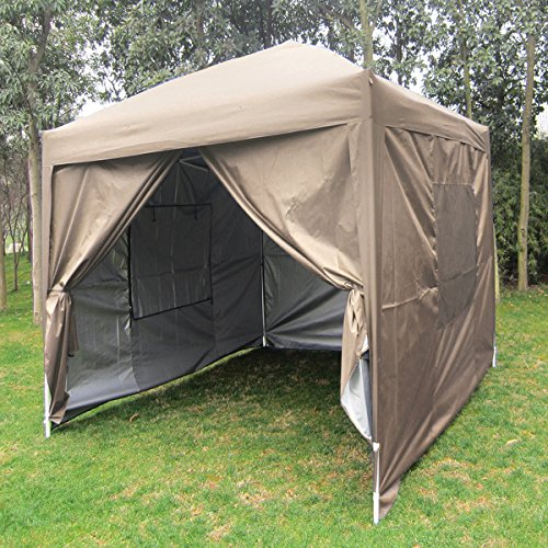 Quictent Privacy 8 X8 Ez Pop Up Party Tent Canopy Gazebo Mesh Curtain 100 Waterproof 7 Colors