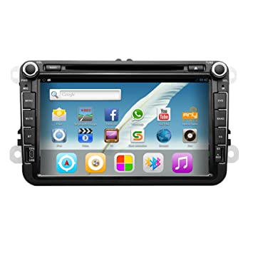 Amazon pupug 8 inch android 42 hd car video gps navigation pupug 8 inch android 42 hd car video gps navigation wifi dvd player radio stereo for asfbconference2016 Image collections
