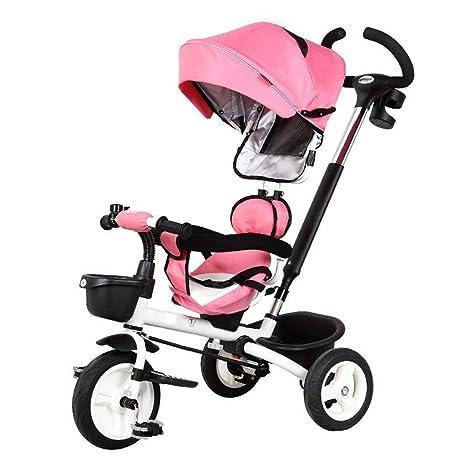 Moolo Cochecitos Carrito, Bicicleta Triciclo de niños Bebé Plegable ...
