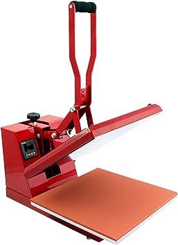 PixMax Prensa de Calor Maquina de Prensa de Calor Máquina de la sublimación de la transferencia de la prensa del calor de la camiseta, uso para industrial   50cm x 50xcm  