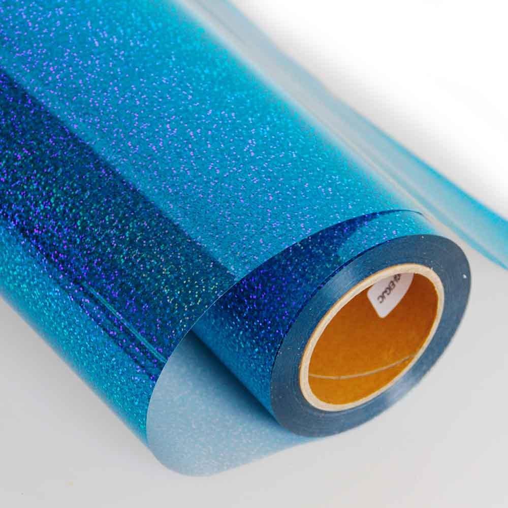 50cmx50cm Brown 50CMX50/CM Hoho olografica carta per stampa laser Heat Transfer vinyl lucido color Press film DIY tessuti