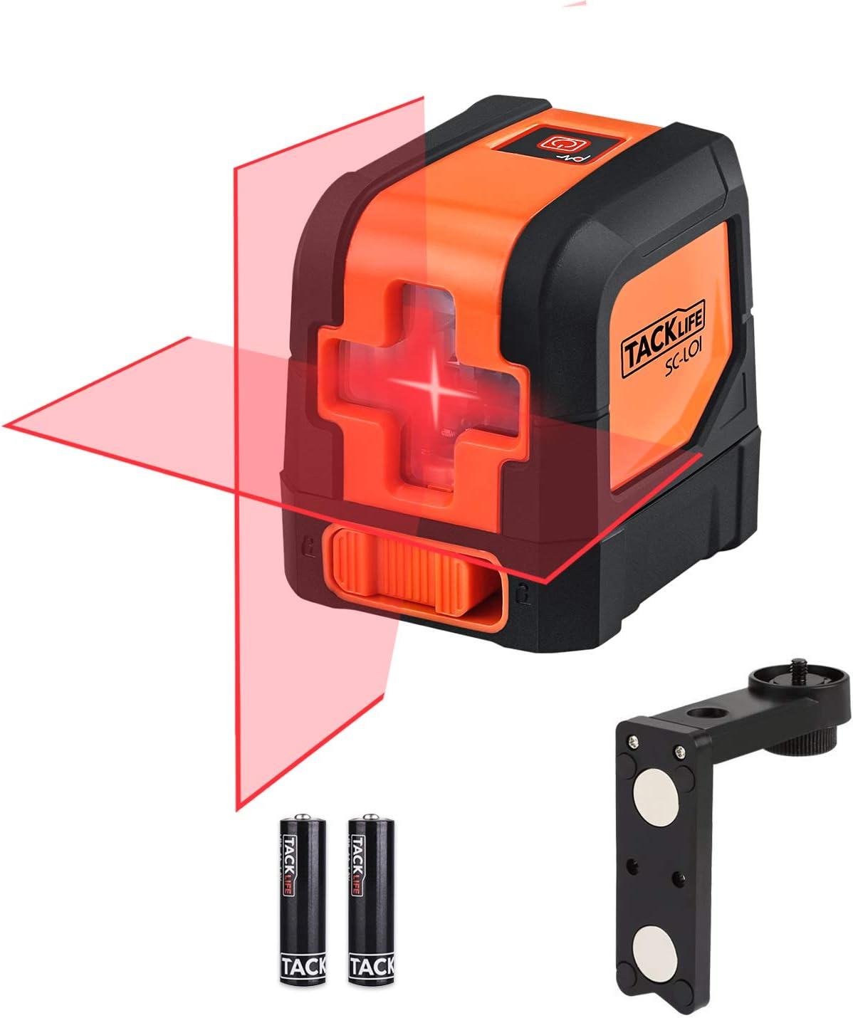 3. Tacklife SC-L01-50 Feet Laser Level