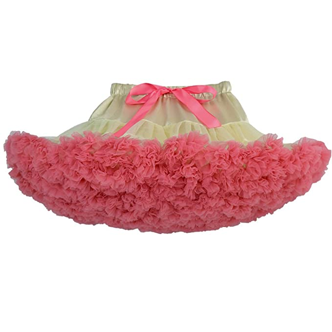 26658c14a Baby Girls Tutu Pettiskirt Toddlers Kids Layered Ruffle Tulle Ballet ...