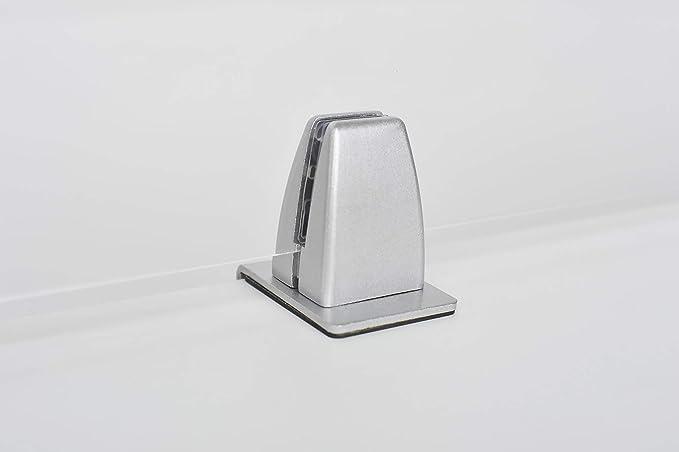 CJWY Klemmhalter f/ür Plexiglas,Klemmhalter f/ür Spuckschutz Schutzwand Plexiglas,Fu/ß f/ür Spuckschutz Plexiglashalter,Set von 2 St/ück,Schwarz