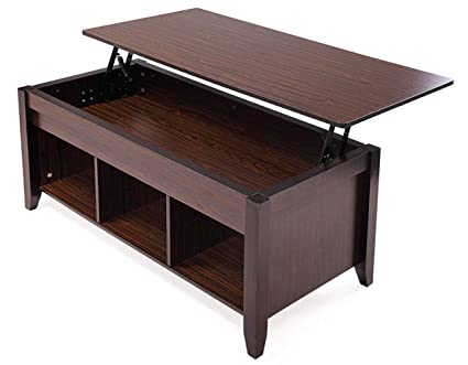 Coffee Table Adjustable Height Lift Top 8