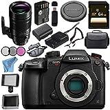 Panasonic Lumix DC-GH5S Mirrorless Micro Four Thirds Digital Camera Leica DG Elmarit 200mm f/2.8 POWER O.I.S. Lens Bundle