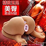 Azlove The United States Tyson 3D stereo high simulation bottom double hole virgin male masturbation mold 18 pounds of small leg buttock