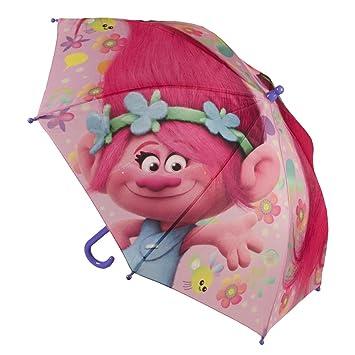 Trolls 2400-326_4 Paraguas infantil 45 cm princesa Poppy