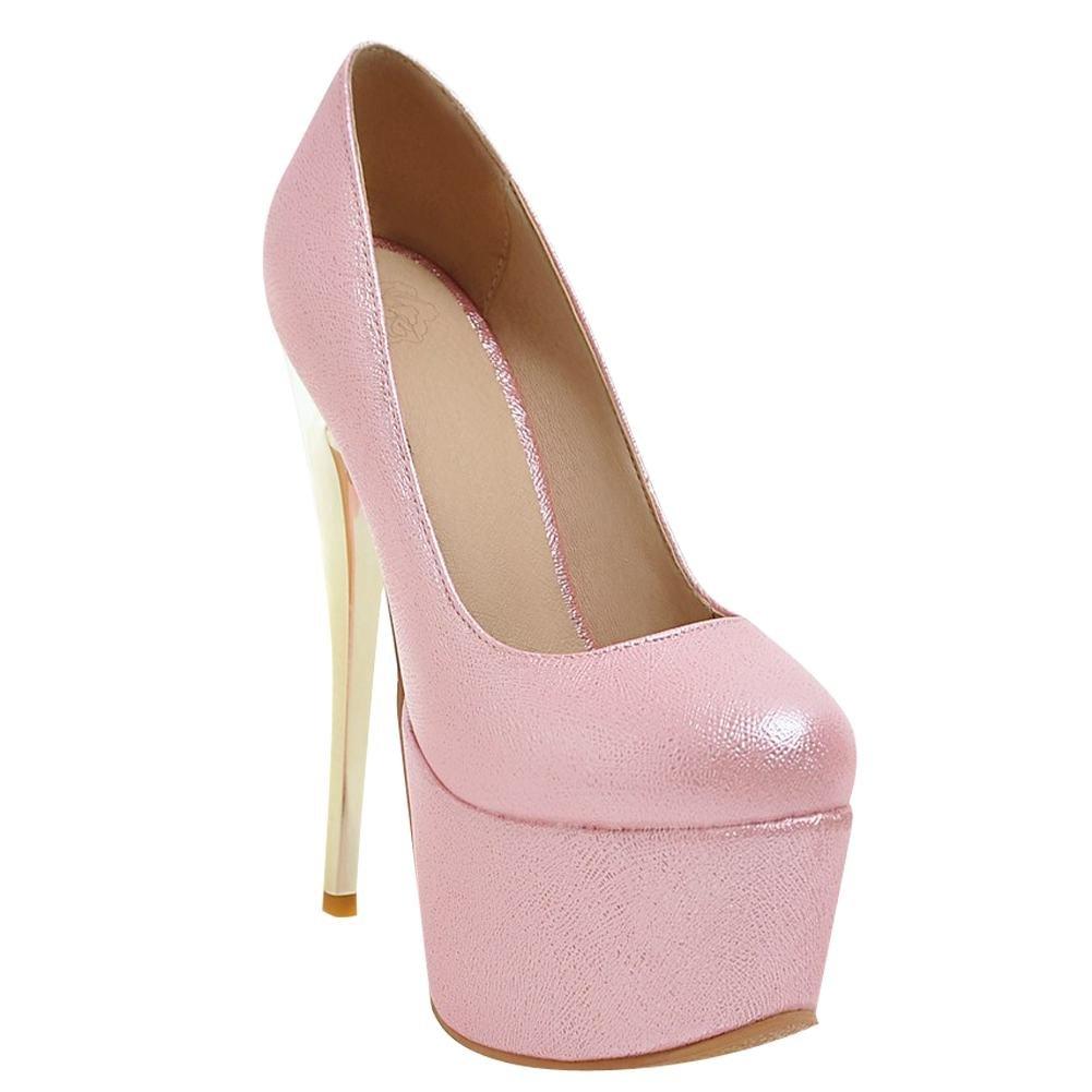 MissSaSa Donna High-Heels Affascinante Dolce Scarpe  Rosa