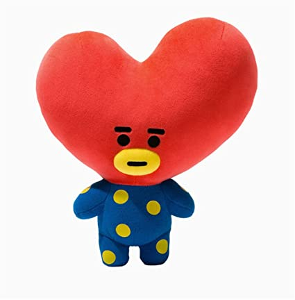 KPOP BTS Idol - Pulsera de felpa para niños, diseño de muñecas con dibujos animados