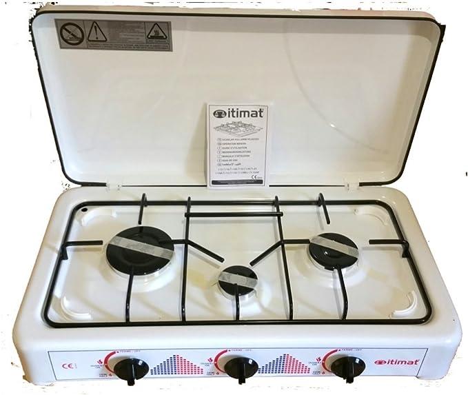 Cocina de 3 fogones: Amazon.es: Hogar