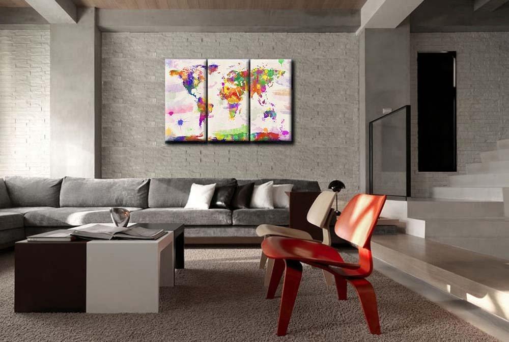 Dipinti Per Soggiorno : Idee per dipingere le pareti di casa