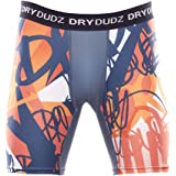 Dry Dudz Men's Compression Quick Dry Shorts, Orange
