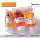 Oriflame Love Nature Face Wash-Peach,Strawberry,Orange(Pack of 3)