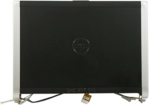 GENUINE  OEM Dell XPS M1330 LED LCD Back Cover W//Hinges CM743