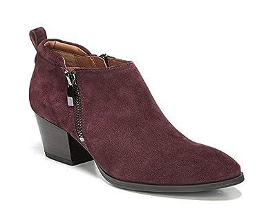 Franco Sarto Women's Granite Boot Bootie (4, Dark Burgundy Suede)