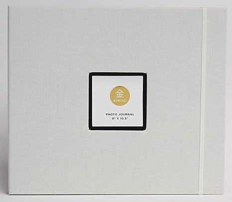 Ivory 9 x 10.5 Kinsho KIN1306 Photo Journals