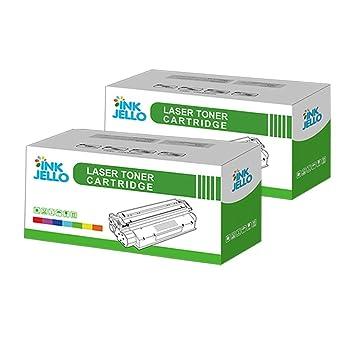 InkJello Compatible Virador Cartucho Reemplazo por HP Laserjet Pro M12 Pro M12a Pro MFP M26a Pro MFP M26nw CF279A (Negro, Doble-Pack)
